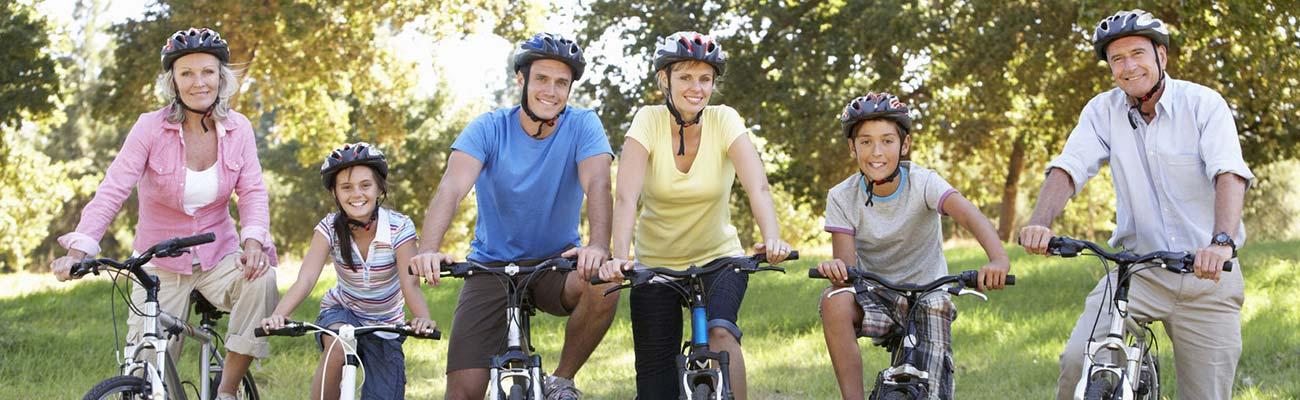 Sortir à vélo en famille consignes de sécurité