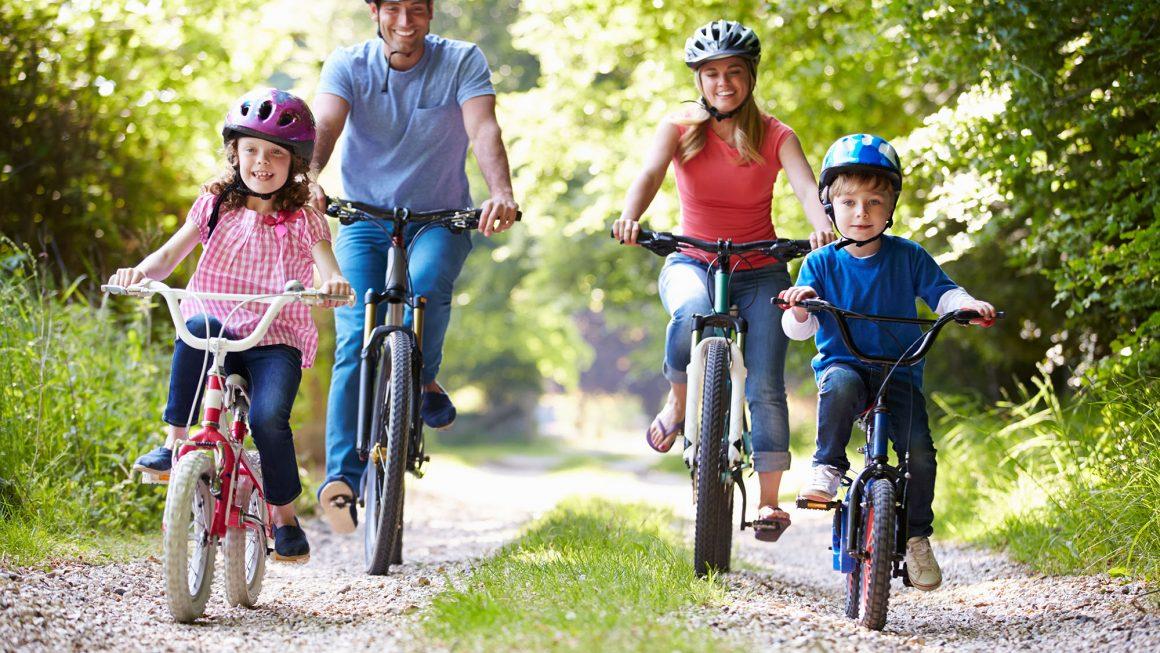 Sortir à vélo en famille : Consignes de sécurité