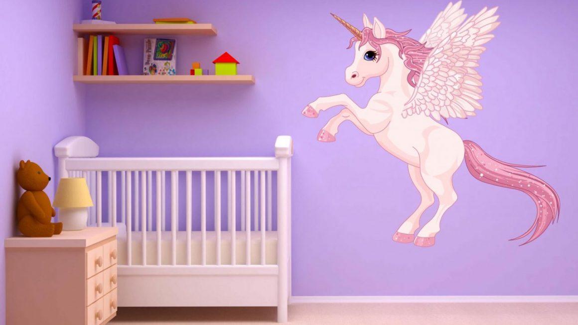 Cadeau pour bébé aux motifs licorne
